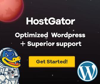 Hostgator Hosting - optimized for WordPress