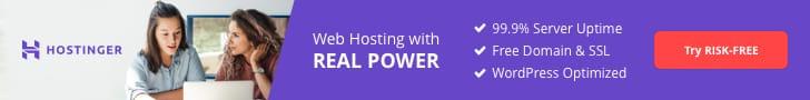 hostinger is the best hosting at affordable prices.