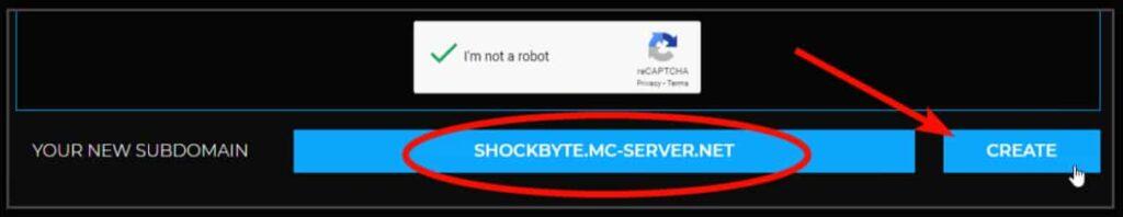 Shockbyte New Subdomain
