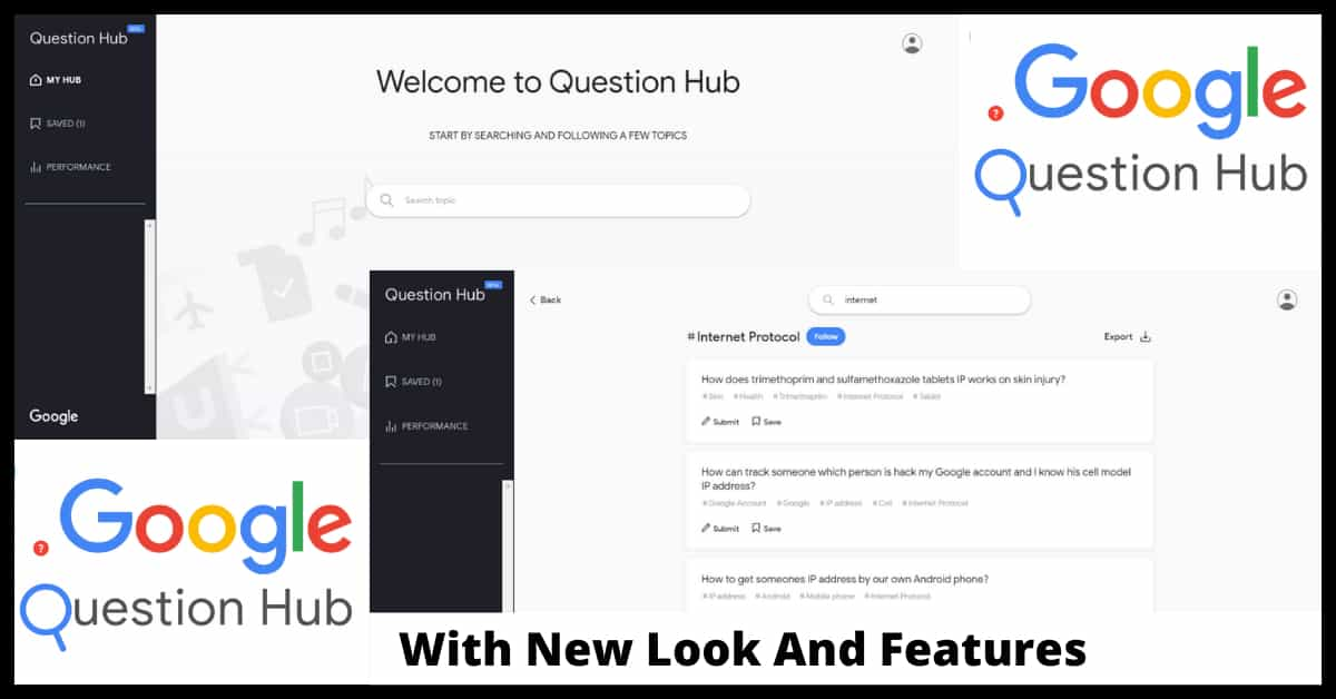 Question Hub With New Look And More Features